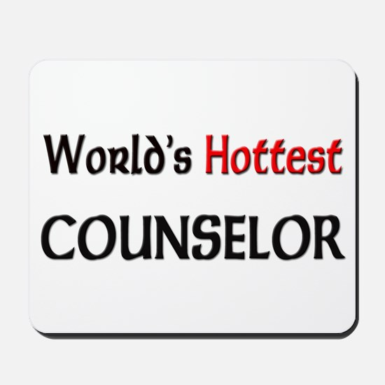 World's Hottest Counselor Mousepad
