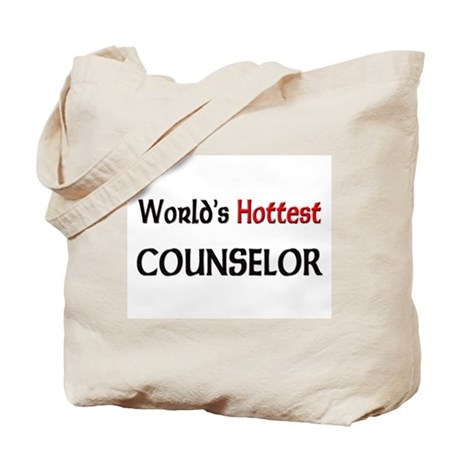 World's Hottest Counselor Tote Bag