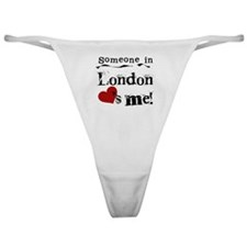 Someone in London Classic Thong