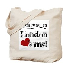 Someone in London Tote Bag