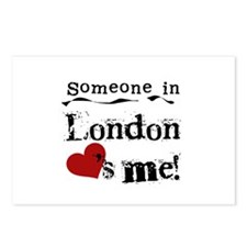 Someone in London Postcards (Package of 8)