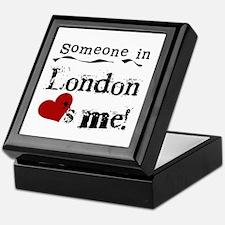 Someone in London Keepsake Box