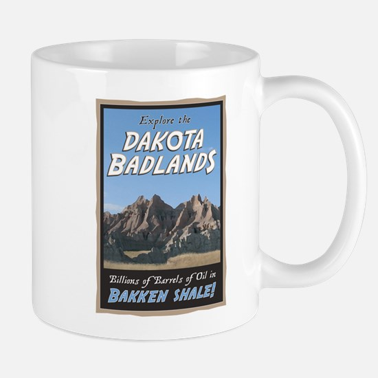 Dakota Badlands Bakkan Shale Mug