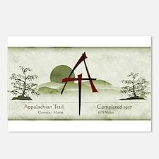 Earthy Asian Appalachian Trail Postcards (Package
