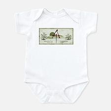 Earthy Asian Appalachian Trail Infant Bodysuit