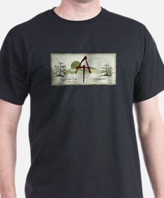 Earthy Asian Appalachian Trail T-Shirt