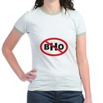 NO BHO Jr. Ringer T-Shirt