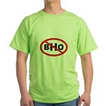 NO BHO Green T-Shirt