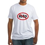 NO BHO Fitted T-Shirt