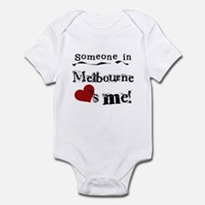 Someone in Melbourne Infant Bodysuit