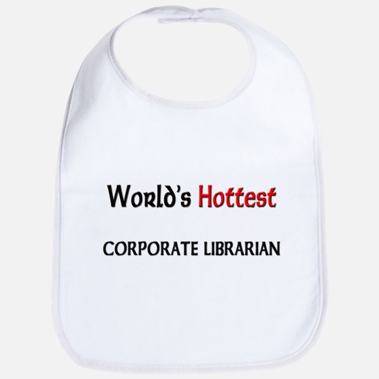 World's Hottest Corporate Librarian Bib