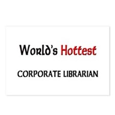 World's Hottest Corporate Librarian Postcards (Pac