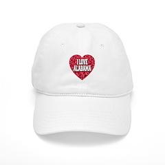 I Love AL Baseball Cap