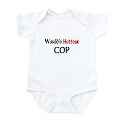 World's Hottest Cop Infant Bodysuit