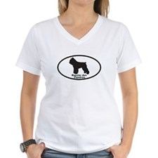 BOUVIER DES FLANDRES Womens V-Neck T-Shirt