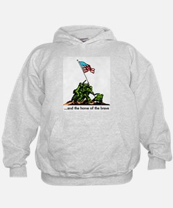 and the home of the brave Hoodie