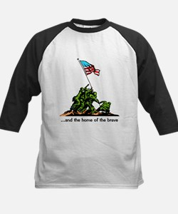 and the home of the brave Kids Baseball Jersey