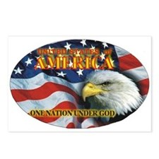 One Nation 2 Postcards (Package of 8)