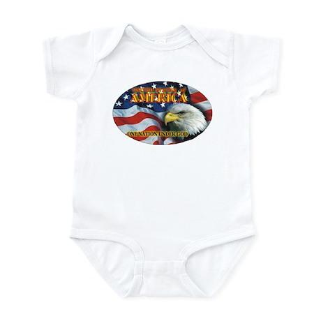 One Nation 2 Infant Bodysuit