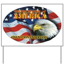 One Nation 2 Yard Sign