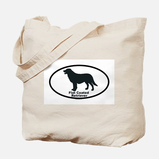 FLATCOATED RETRIEVER Tote Bag