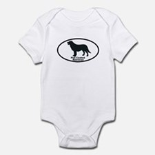 FLATCOATED RETRIEVER Infant Bodysuit