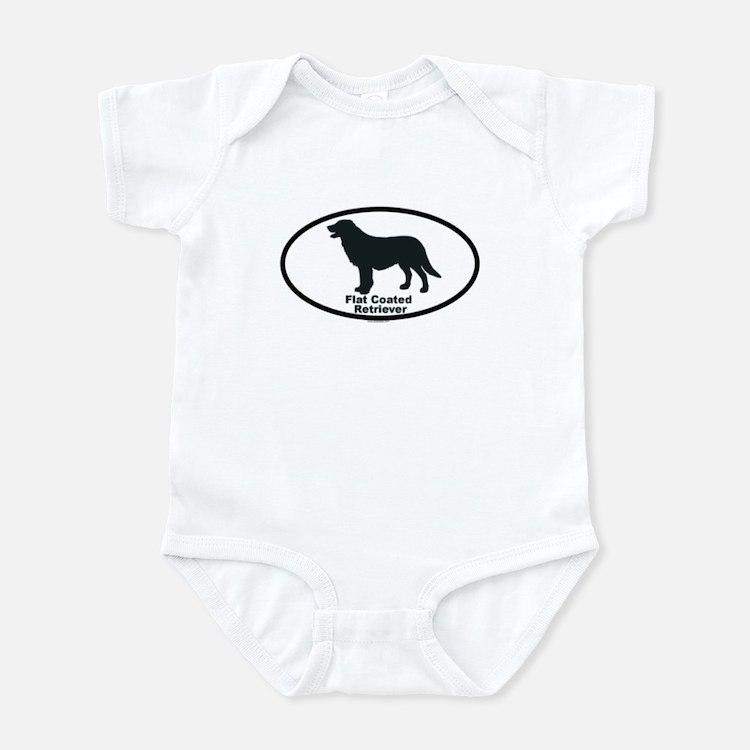 FLATCOATED RETRIEVER Infant Bodysuit