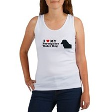 PORTUGUESE WATER DOG Womens Tank Top