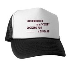 """Cure...Disease"" Trucker Hat"