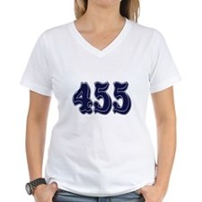455 Womens V-Neck T-Shirt