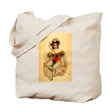 1888 Burlesque Poster Tote Bag