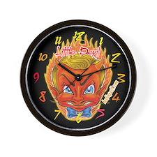 Little Devil Tattoo Wall Clock