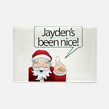 Jayden's Been Nice Rectangle Magnet