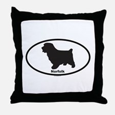 NORFOLK Throw Pillow