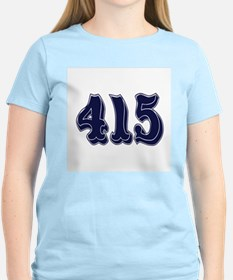 415 Womens Light T-Shirt