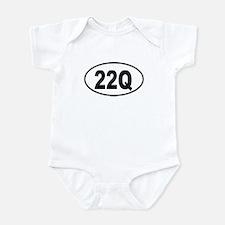 22Q Infant Bodysuit