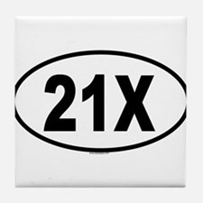 21X Tile Coaster