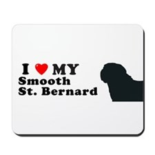 SMOOTH ST BERNARD Mousepad