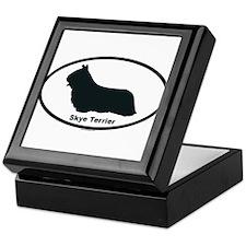 SKYE TERRIER Tile Box