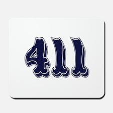 411 Mousepad