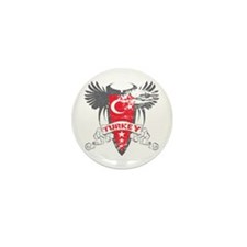 Turkey Winged Mini Button (10 pack)