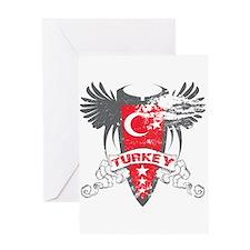 Turkey Winged Greeting Card