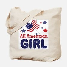 All American Girl Tote Bag