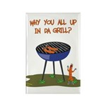 All Good In Da Grill Rectangle Magnet (100 pack)