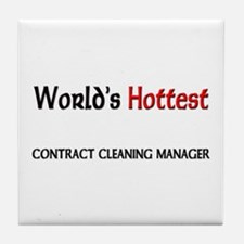World's Hottest Contract Cleaning Manager Tile Coa