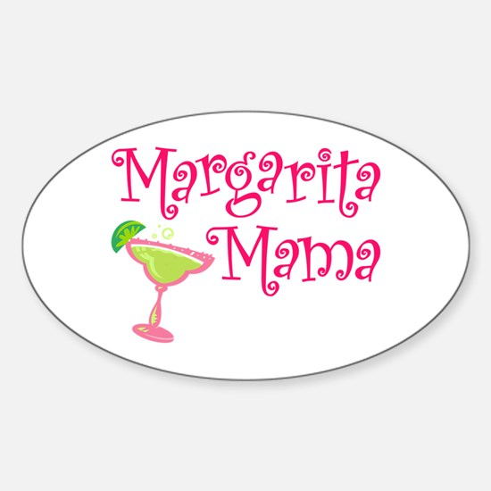 Margarita Mama Oval Decal