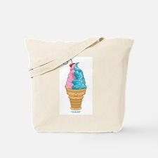 Cotton Candy Ice Cream Tote Bag