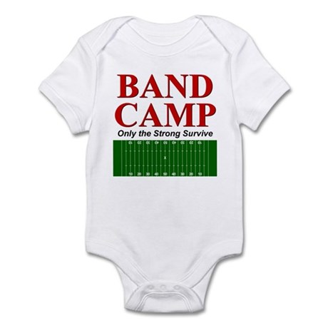 Band Camp - Only the Strong S Infant Bodysuit