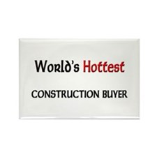 World's Hottest Construction Buyer Rectangle Magne
