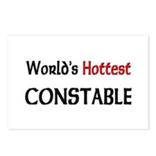 World's Hottest Constable Postcards (Package of 8)